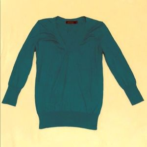 Turquoise limited sweater size medium